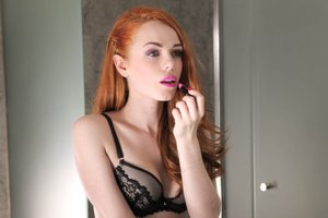 Ella Hughes celebrates her engagement with a vaginal creampie